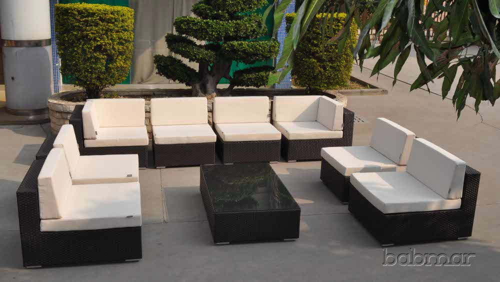 Swing 46 U Shaped Sectional Icon Outdoor Contract