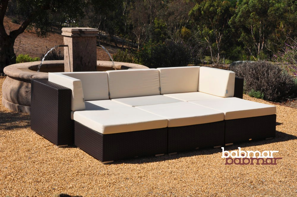 Swing 46 Deep Sectional Sofa For 3 With