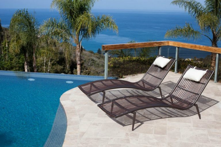 Chaise lounges icon outdoor contract for Bella flora double chaise lounge